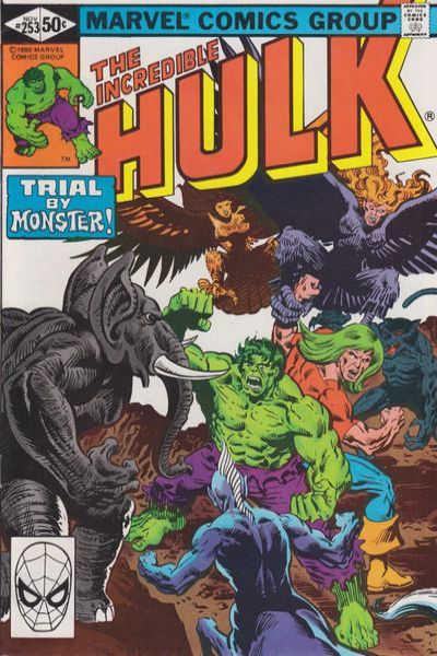 Incredible Hulk #253 comic books - cover scans photos Incredible Hulk #253 comic books - covers, picture gallery