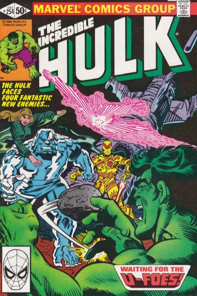 Incredible Hulk #254 comic books - cover scans photos Incredible Hulk #254 comic books - covers, picture gallery