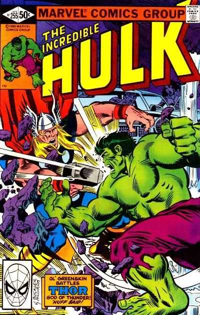 Incredible Hulk #255 comic books for sale