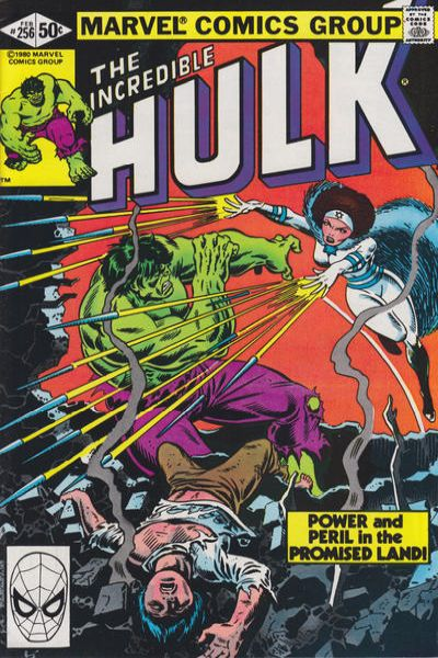 Incredible Hulk #256 comic books - cover scans photos Incredible Hulk #256 comic books - covers, picture gallery