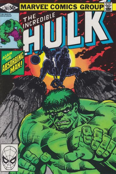 Incredible Hulk #261 comic books - cover scans photos Incredible Hulk #261 comic books - covers, picture gallery