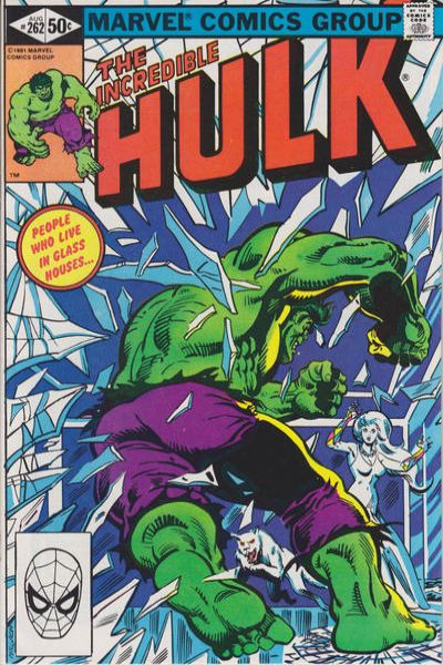 Incredible Hulk #262 comic books - cover scans photos Incredible Hulk #262 comic books - covers, picture gallery