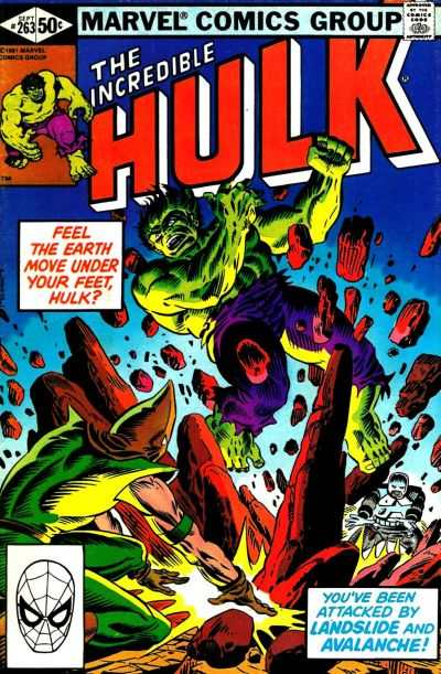 Incredible Hulk #263 comic books - cover scans photos Incredible Hulk #263 comic books - covers, picture gallery
