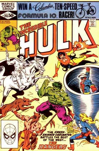 Incredible Hulk #265 comic books - cover scans photos Incredible Hulk #265 comic books - covers, picture gallery