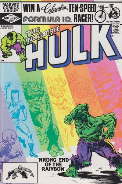 Incredible Hulk #267 comic books for sale