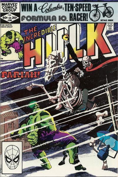 Incredible Hulk #268 comic books - cover scans photos Incredible Hulk #268 comic books - covers, picture gallery