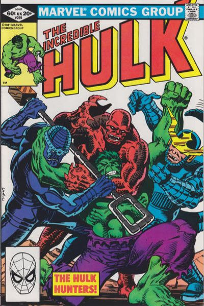 Incredible Hulk #269 comic books - cover scans photos Incredible Hulk #269 comic books - covers, picture gallery