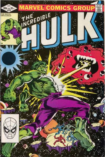 Incredible Hulk #270 comic books for sale