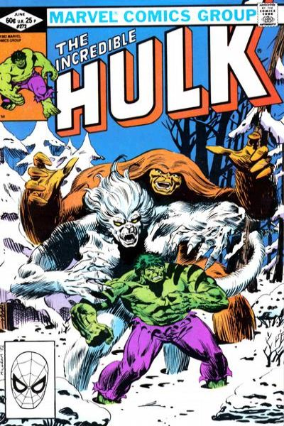 Incredible Hulk #272 comic books - cover scans photos Incredible Hulk #272 comic books - covers, picture gallery