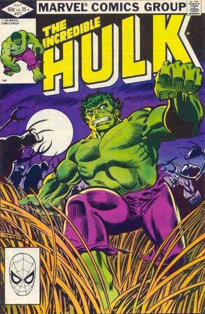 Incredible Hulk #273 comic books for sale