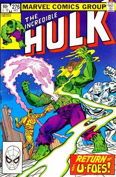 Incredible Hulk #276 comic books - cover scans photos Incredible Hulk #276 comic books - covers, picture gallery