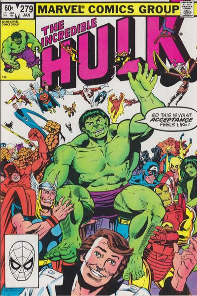 Incredible Hulk #279 comic books for sale