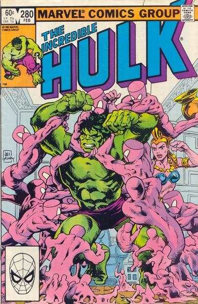 Incredible Hulk #280 comic books - cover scans photos Incredible Hulk #280 comic books - covers, picture gallery