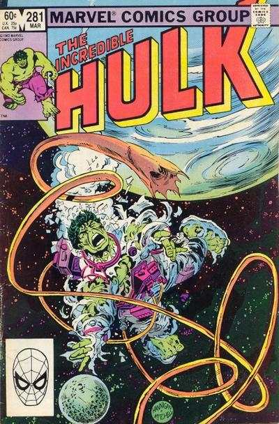 Incredible Hulk #281 comic books - cover scans photos Incredible Hulk #281 comic books - covers, picture gallery
