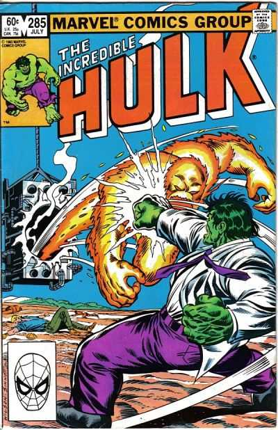 Incredible Hulk #285 comic books - cover scans photos Incredible Hulk #285 comic books - covers, picture gallery
