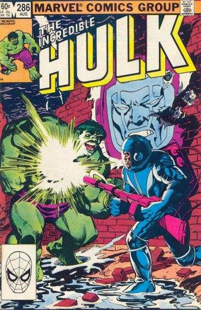 Incredible Hulk #286 comic books - cover scans photos Incredible Hulk #286 comic books - covers, picture gallery