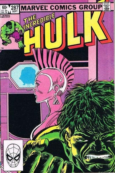 Incredible Hulk #287 comic books - cover scans photos Incredible Hulk #287 comic books - covers, picture gallery