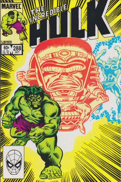 Incredible Hulk #288 comic books - cover scans photos Incredible Hulk #288 comic books - covers, picture gallery