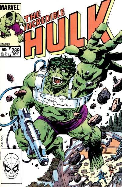 Incredible Hulk #289 comic books - cover scans photos Incredible Hulk #289 comic books - covers, picture gallery