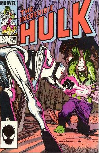 Incredible Hulk #296 comic books - cover scans photos Incredible Hulk #296 comic books - covers, picture gallery