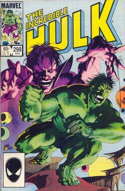 Incredible Hulk #298 comic books - cover scans photos Incredible Hulk #298 comic books - covers, picture gallery