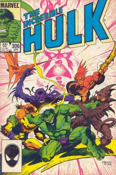 Incredible Hulk #306 cheap bargain discounted comic books Incredible Hulk #306 comic books