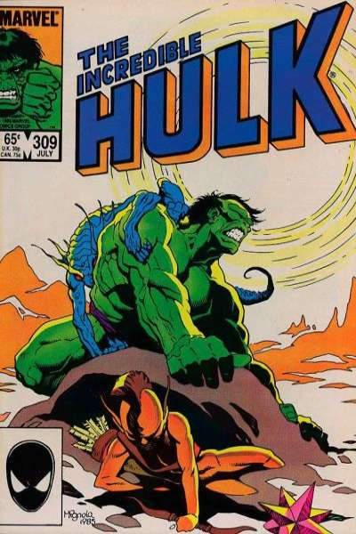 Incredible Hulk #309 comic books for sale