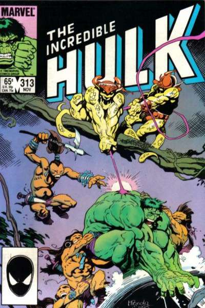 Incredible Hulk #313 comic books for sale