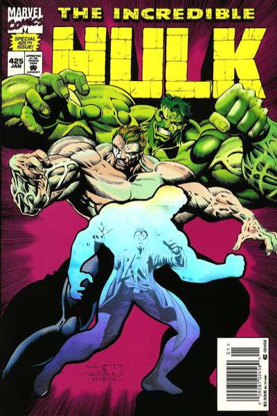 Incredible Hulk #425 comic books - cover scans photos Incredible Hulk #425 comic books - covers, picture gallery