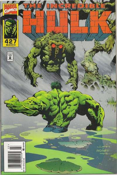 Incredible Hulk #427 comic books - cover scans photos Incredible Hulk #427 comic books - covers, picture gallery