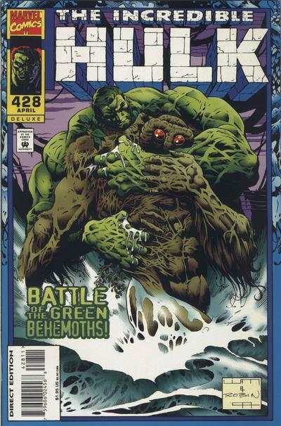 Incredible Hulk #428 comic books - cover scans photos Incredible Hulk #428 comic books - covers, picture gallery