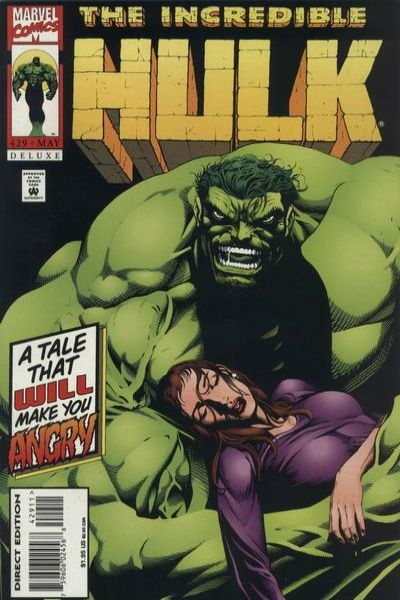 Incredible Hulk #429 comic books - cover scans photos Incredible Hulk #429 comic books - covers, picture gallery