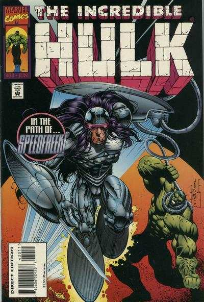 Incredible Hulk #430 Comic Books - Covers, Scans, Photos  in Incredible Hulk Comic Books - Covers, Scans, Gallery