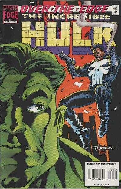 Incredible Hulk #433 comic books - cover scans photos Incredible Hulk #433 comic books - covers, picture gallery