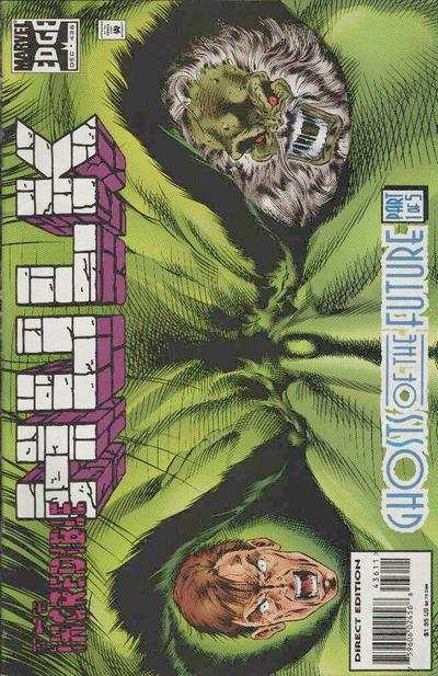Incredible Hulk #436 comic books - cover scans photos Incredible Hulk #436 comic books - covers, picture gallery