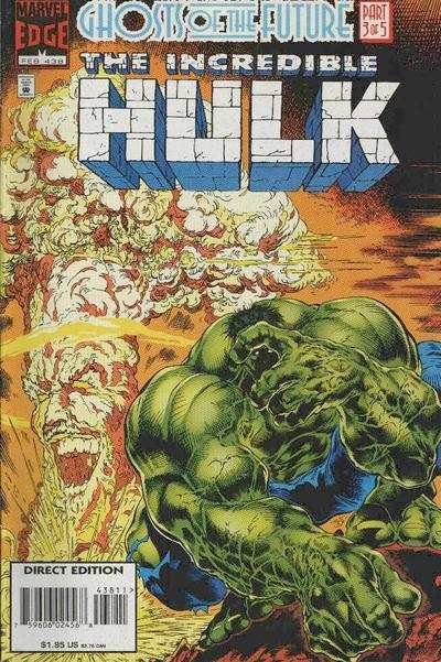 Incredible Hulk #438 comic books - cover scans photos Incredible Hulk #438 comic books - covers, picture gallery