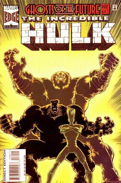 Incredible Hulk #439 comic books - cover scans photos Incredible Hulk #439 comic books - covers, picture gallery