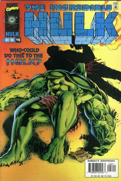 Incredible Hulk #448 Comic Books - Covers, Scans, Photos  in Incredible Hulk Comic Books - Covers, Scans, Gallery