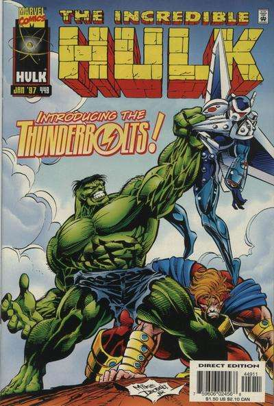 Incredible Hulk #449 comic books for sale