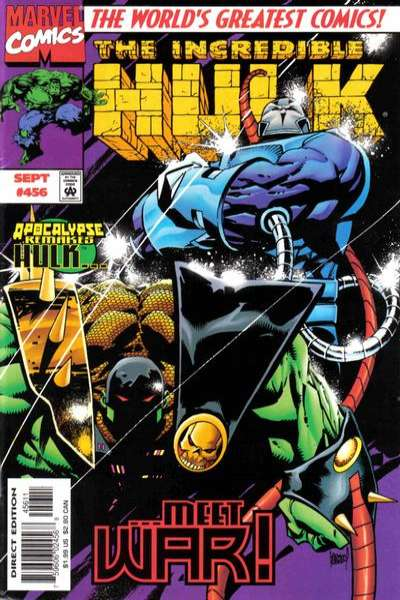 Incredible Hulk #456 comic books for sale
