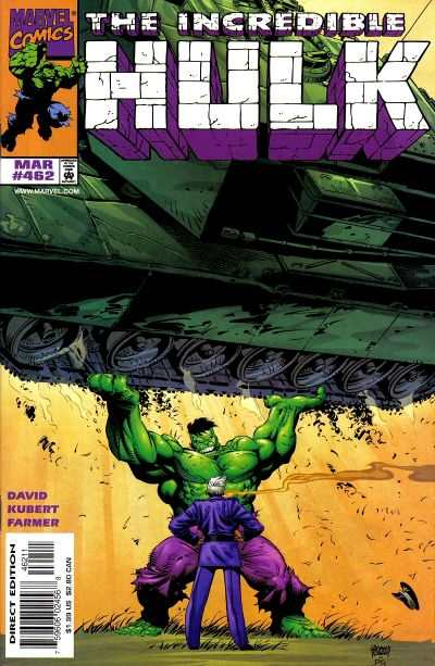 Incredible Hulk #462 comic books - cover scans photos Incredible Hulk #462 comic books - covers, picture gallery