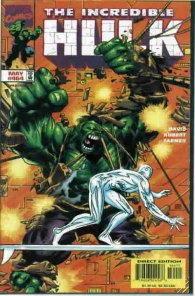 Incredible Hulk #464 comic books - cover scans photos Incredible Hulk #464 comic books - covers, picture gallery