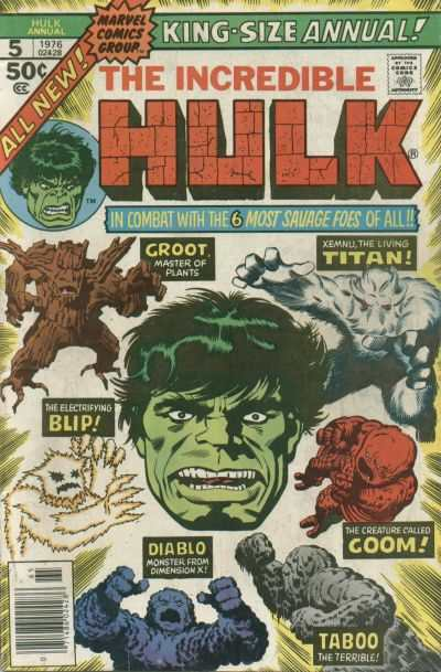 Incredible Hulk #5 comic books for sale