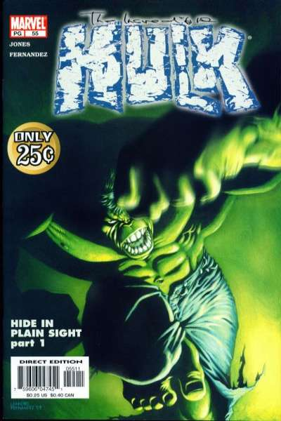 Incredible Hulk #55 comic books for sale