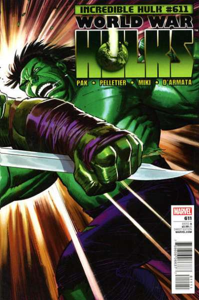 Incredible Hulk #611 Comic Books - Covers, Scans, Photos  in Incredible Hulk Comic Books - Covers, Scans, Gallery