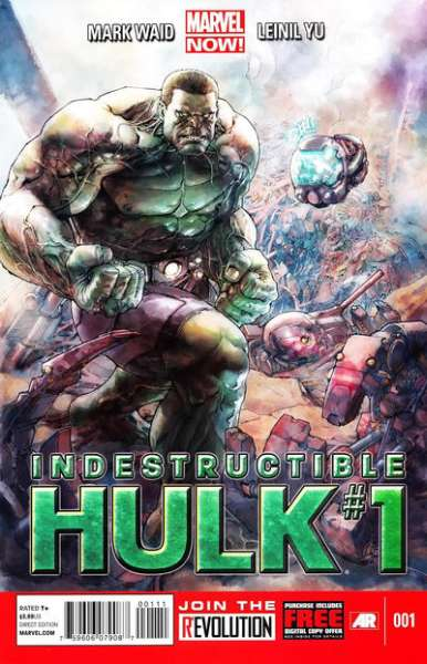 Indestructible Hulk #1 comic books - cover scans photos Indestructible Hulk #1 comic books - covers, picture gallery