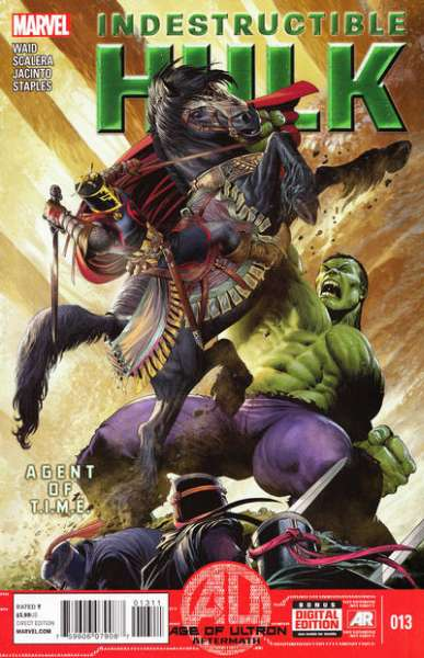Indestructible Hulk #13 comic books - cover scans photos Indestructible Hulk #13 comic books - covers, picture gallery