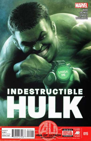 Indestructible Hulk #15 comic books - cover scans photos Indestructible Hulk #15 comic books - covers, picture gallery