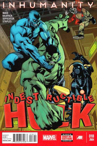 Indestructible Hulk #18 comic books for sale