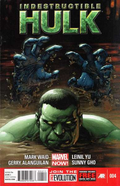 Indestructible Hulk #4 comic books - cover scans photos Indestructible Hulk #4 comic books - covers, picture gallery